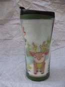 Starbucks 2007 Hologram Reindeer Travel Mug Or Thermal  Mug