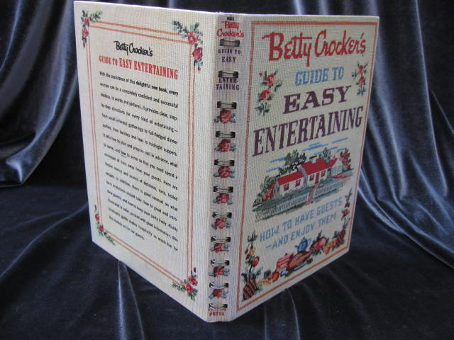 Betty Crocker's Guide To Easy Entertaining First Edition 1959