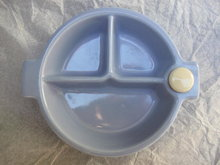 Vintage Baby's  Ceramic Divided  Warming Dish or Bowl