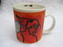 Starbucks Coffee Cupid  Origin Series Orange Mug