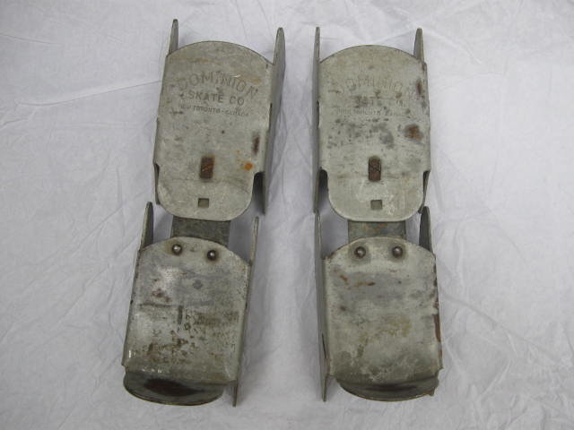 Vintage Pair Of Child's  Ice Skates