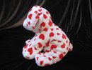 Ty Dreamsy The Red & White Valentine's  Baby Bear Cub Plush Pluffie