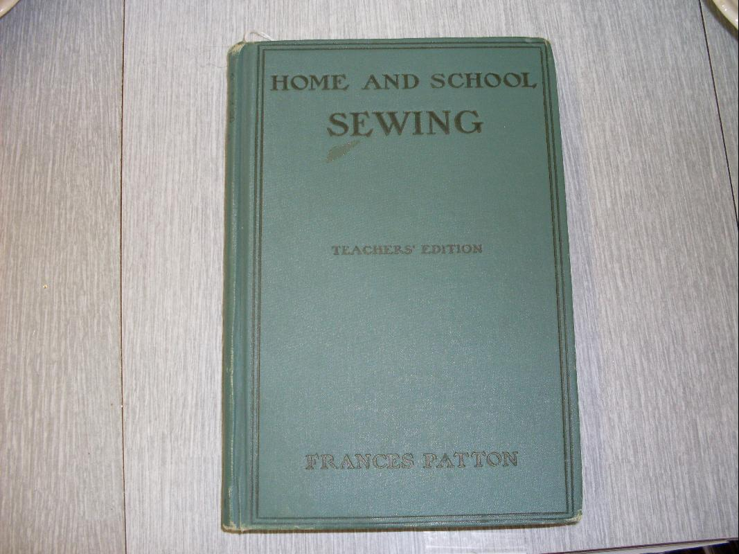 1901 HOME AND SCHOOL SEWING
