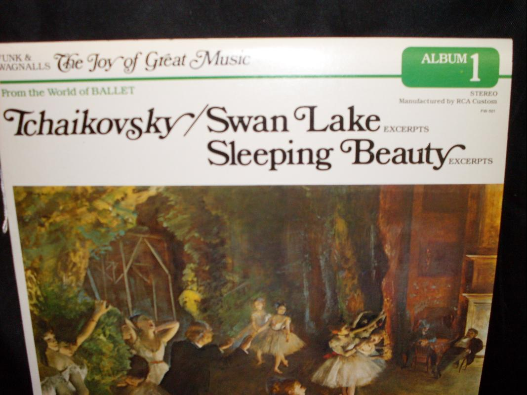 TCHAIKOVSKY SWAN LAKE SLEEPING BEAUTY
