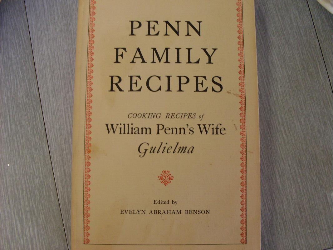 PENN FAMILY RECIPES