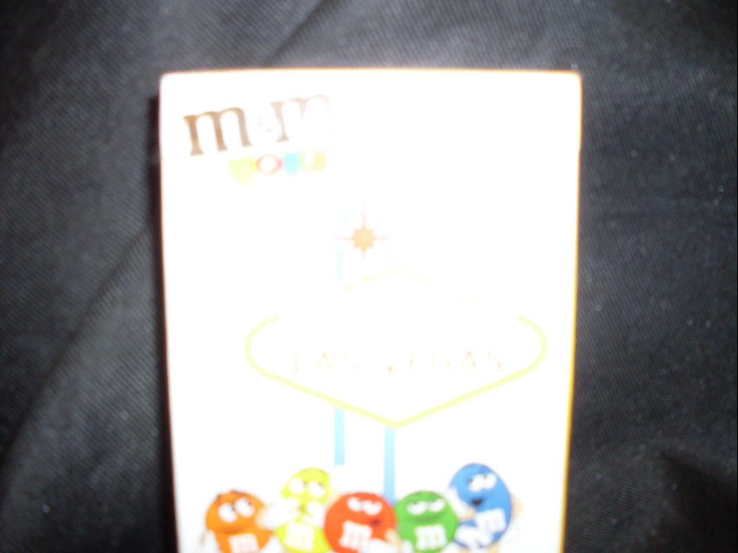 m and m playing card