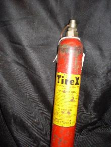 tire and fire extinguisher