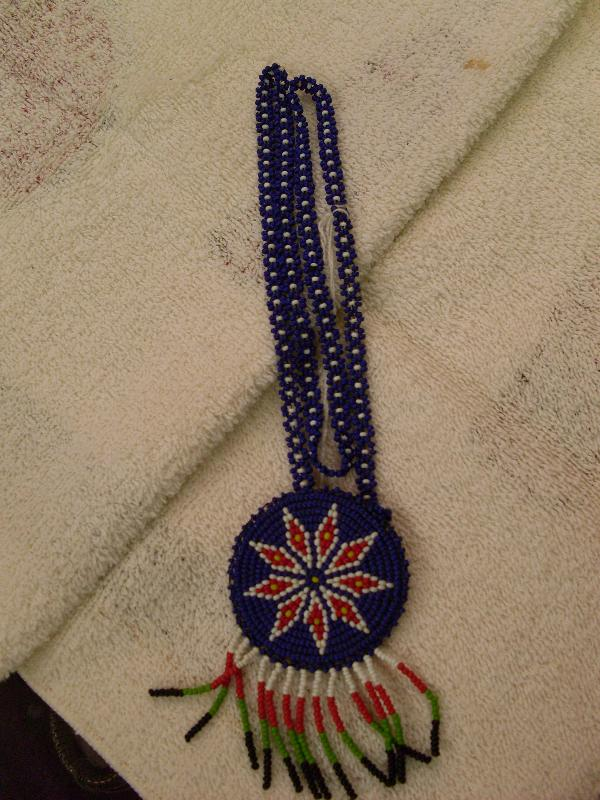 beadwork necklace