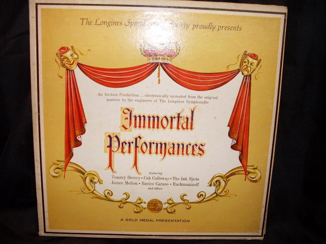 IMMORTAL PERFORMANCES