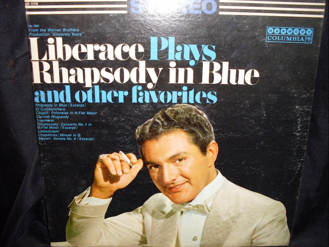 LIBERACE PLAY RHAPSODY IN BLUE