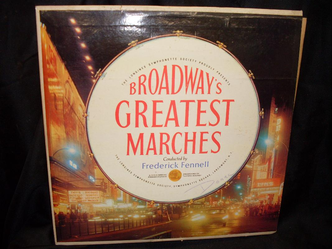 BROADWAY GREATEST MARCHES