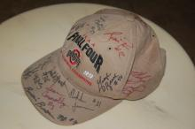 SIGNED OSU- OHIO STATE U HAT