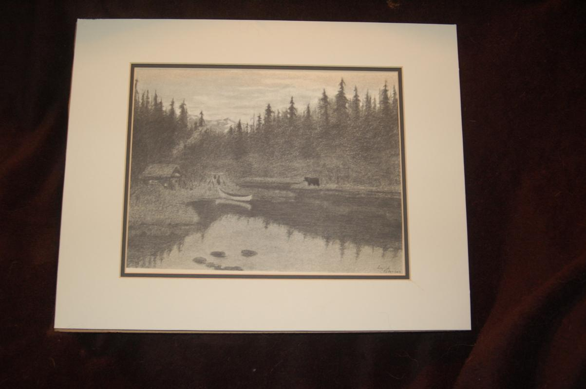 SIGNED INGRID PETERSON LITHOGRAGH