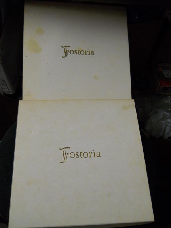 RARE FOSTORIA GLASS PIECES