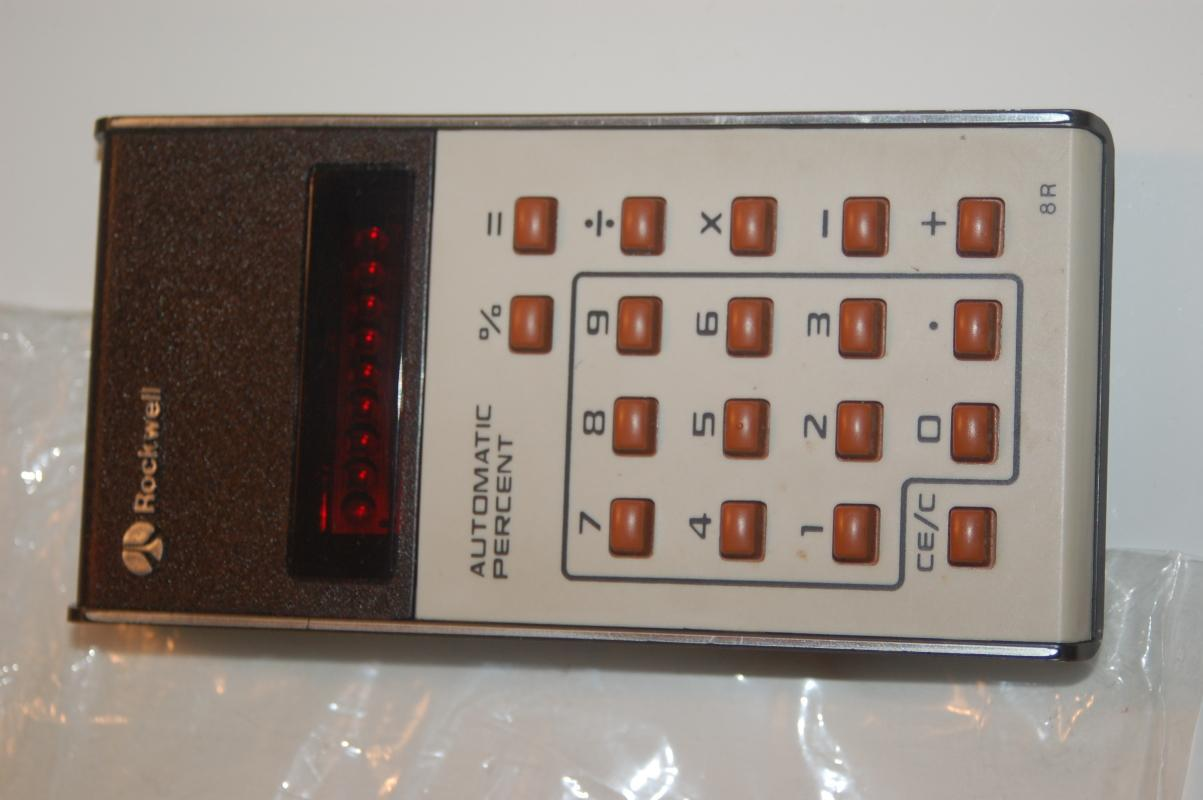 VINTAGE CALCULATOR BY ROCKWELL