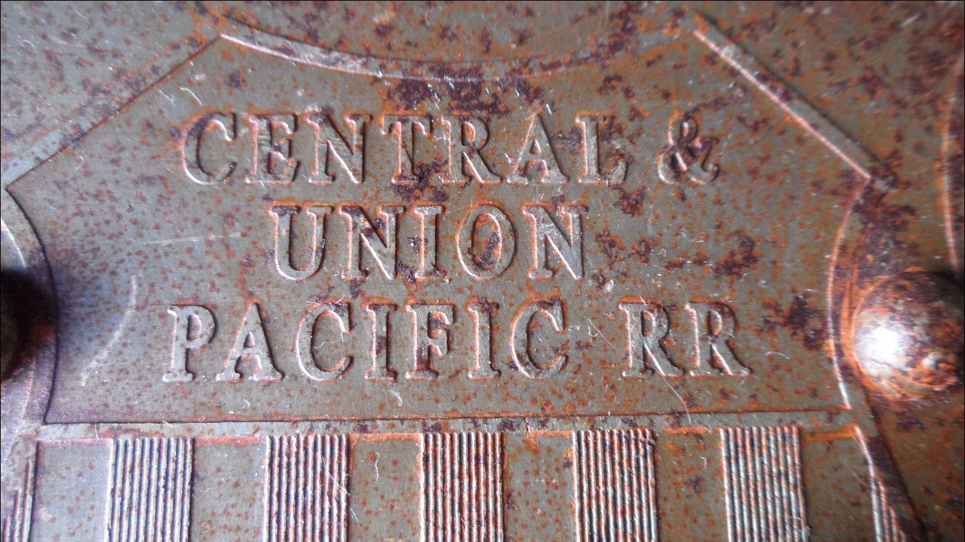 Central & Union Pacific Railroad Lock and Keys