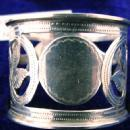 Pierced Sterling Silver Napkin