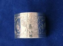 Engraved Sterling Napkin Ring