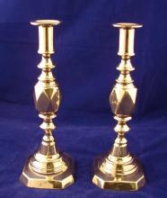 Pair of Diamond Princess Candlesticks