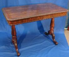 William IV Rosewood Writing table attributed to Gillows