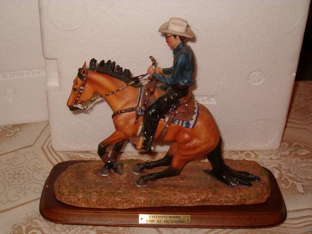 Breyer porcelain horse statue