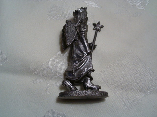 Amanda  angel   pewter by Ricker
