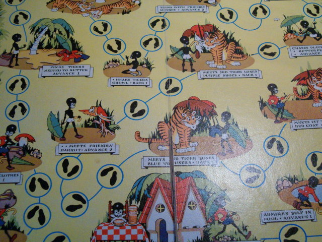 Little Black Sambo game 1945 Cadaco-Ellis