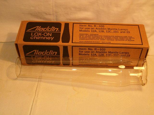 Aladdin R-103 chimney older style/box