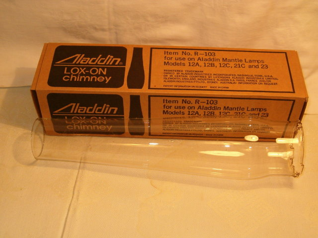 Aladdin R-103 chimney older style/box