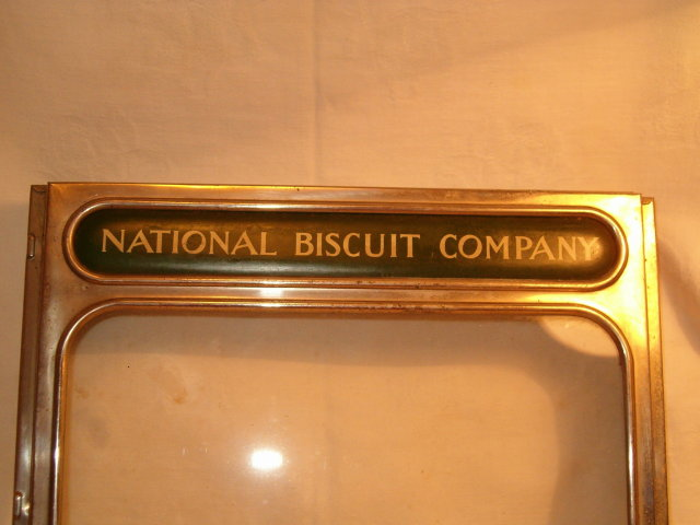 National Biscuit Company store display lid