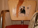Hopalong Cassidy child's rocker