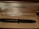 Sheaffer's white dot  military pen - rare