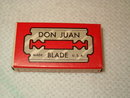 Don Juan razor blade package
