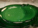 Royal Haeger  R821 experimental center bowl with applied fruit