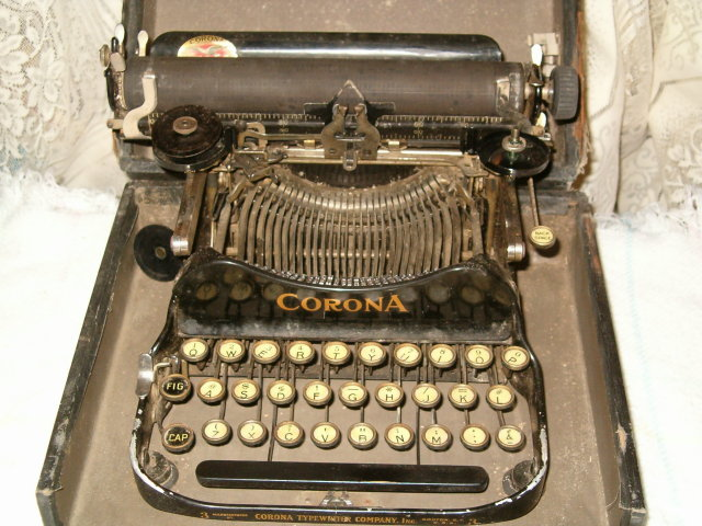 Corona 1912 portable typewriter #3 SALE
