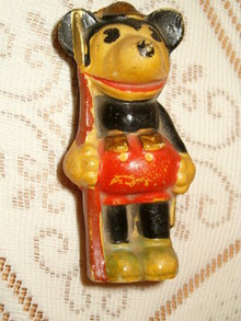bisque  Mickey Mouse soldier 1930