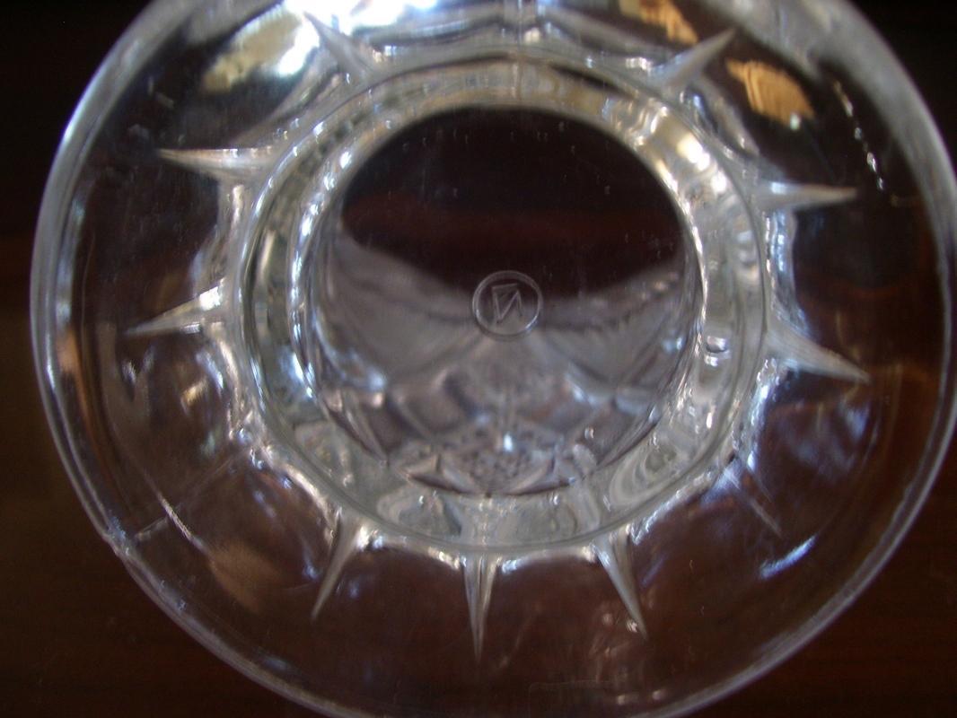 Northwood, American Brilliant Cut Glass , Rare , Nearcut Pitcher