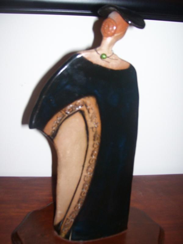 '' Art Nouveau Woman Sculpture by Judy Ohmit , Sassafras Ridge