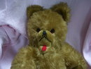 Vintage Hermann' Spielwaren- German1950's Grisly  MohairTeddy Bear