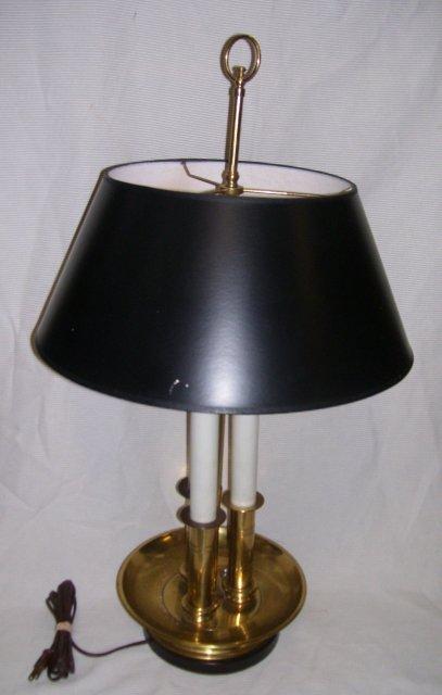 Antiques art vintage frederick cooper chicago studio vintage three column desk lamp aloadofball Choice Image