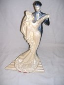 Art Deco Wedding Day Sculpture by Austin
