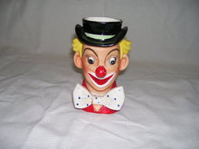 Napcoware Clown Flower- Head Vase