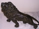 Bronze-Black Patina- Mountain Lion, Free Standing Sculpture ,