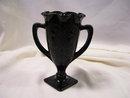 Fenton Black 7.5 Vase