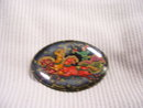 Russian Signed Original  Miniature Art Broach
