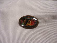 Russian  Signed Original-Miniature Art  Broach