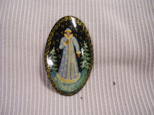 Russian Original Signed Miniature Art  Broach
