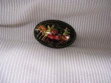 Russian Signed Miniature Art  Broach