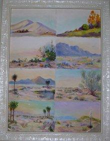 California Landscape- Elsie Skene Stevens California (1860-1942)Oil on Paper