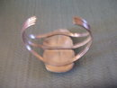 BisbeeTuquoise Cuff Bracelet -Double Stone Silver Design